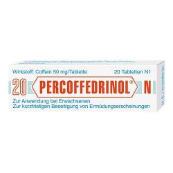 Percoffedrinol N 50 mg Tabletten von Percoffedrinol