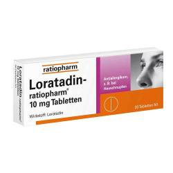 Loratadin ratiopharm 10 mg Tabletten von Ratiopharm