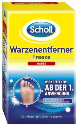 Scholl Warzenentferner Freeze 80 ml Spray von Reckitt Benckiser Deutschla