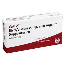 Disci / Viscum comp. cum Argento Suppositorien